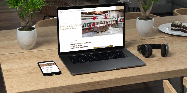 Refonte du site internet CPL OP Emballages